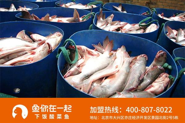 酸菜鱼加盟多少钱